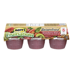 Mott's Fruitsations, Unsweetened Strawberry Kiwi (6x111g)