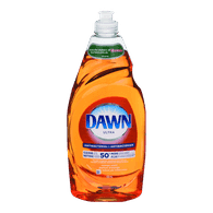 Dawn Dishwashing Detergent Ultra Antibacterial, Orange (709mL)  - Urbery