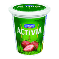 Danone Activia Probiotic Yogurt, Strawberry (650g)  - Urbery