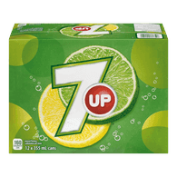 7 Up (12X355ML)  - Urbery