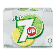 Diet 7 UP (12X355ML)  - Urbery