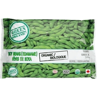 Green Organic Soybeans (Edamame) (500g)  - Urbery