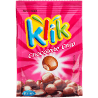 Klik Milk Chocolate Coated Chocolate Chip Biscuits (75g)  - Urbery