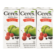 Ceres 100% Fruit Juice Blend, Secrets of the Valley (3x200mL)  - Urbery