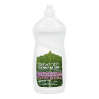Seventh Generation Dishwashing Detergent Natural Dish Liquid, Lavender & Mint (739mL)  - Urbery