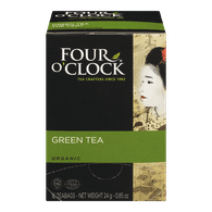 Four O'Clock Organic Green Tea (16ea)  - Urbery