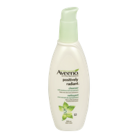 Aveeno Positively Radiant Cleanser (200mL)  - Urbery