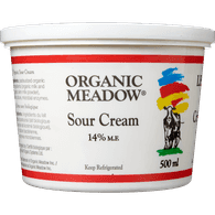 Organic Meadow Sour Cream 14% (500ML)