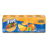 Five Alive Juice Passion Peach (10x200mL)  - Urbery