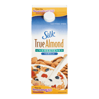 Silk True Almond Milk Vanilla Unsweetened (1.89L)