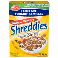 Post Shreddies Family Size Cereal (725g)  - Urbery