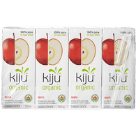Kiju Organic 100% Apple Juice (4x200mL)  - Urbery