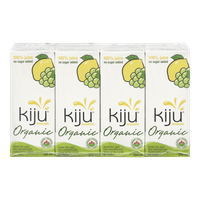 Kiju Organic Juice 100% Lemonade (4x200mL)  - Urbery