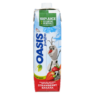 Oasis FruitZoo, Strawberry Banana (960mL)  - Urbery
