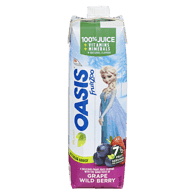 Oasis FruitZoo Juice, Grape & Wild Berry (960mL)  - Urbery