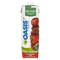 Oasis Fruits + Vegetables, Deliciously Red (960mL)  - Urbery