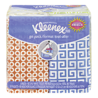 Kleenex Facial Tissues, Pocket Pack (8x1ea)  - Urbery