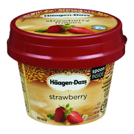 Haagen Dazs Ice Cream Cups Strawberry (118 ml)