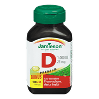 Jamieson Vitamin D softgels (180 e.a)