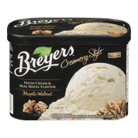 Breyers Ice Cream Tub Creamery Style Maple Walnut (1.66L)