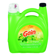 Gain Laundry Liquid, Original (4.43L)  - Urbery