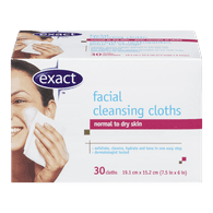 Exact Facial Cleansing Cloths (30ea)  - Urbery