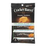 Kraft Cracker Barrel Cheese Snacks Light Medium (168g)