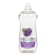 Eco-Max Dishwashing Detergent Ultra Dish Wash, Natural Lavender (740mL)  - Urbery