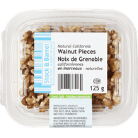 Stock & Barrel Natural Walnut Pieces (125g)  - Urbery