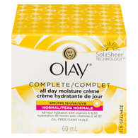Olay Complete All Day UV Moisture Creame (60mL)  - Urbery