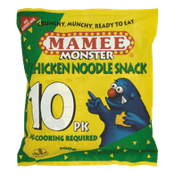 Mamee  Monster Noodle Snack, Chicken (300g)  - Urbery
