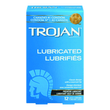 Trojan Condoms Lubricated (12 e.a)