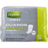 Depend Guards For Men, Maximum Absorbance (52 ea)