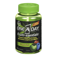 One A day Vitamins Fruiti-ssentials Gummies (60e.a)