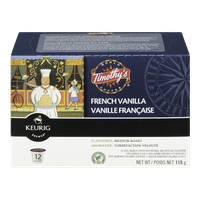Keurig Timothy's French Vanilla Medium Roast (12ea)  - Urbery