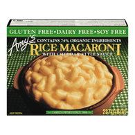 Amys Gluten-Free Rice Macaroni With Cheddar Style Sauce (227g)