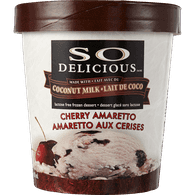 So Delicious Frozen Dessert Coconut Milk Cherry Amaretto (500ml)