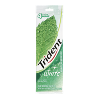 Trident White Gum Wintergreen (4 e.a)