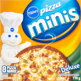 Pillsbury Pizza Minis Deluxe ( 8 per pack - 770 g)