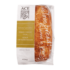 ACE Bakery Oval Three Cheese (454g)  - Urbery