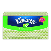 Kleenex Facial Tissues with Lotion, 3 Ply  - Urbery