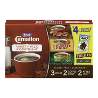 Carnation Hot Chocolate, Variety Pack (7x28g)  - Urbery