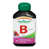 Jamieson Vitamin Chewable Complex Berry Bliss (90e.a)