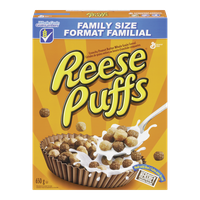 General Mills Reese Puffs Family Size (650g)  - Urbery