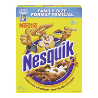 Nestle Nesquik Cereal Family Size (600g)  - Urbery