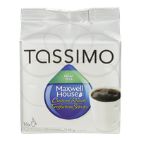 Tassimo Maxwell House Custom Roasts Decaf (14ea)  - Urbery