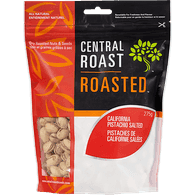 Central Roast Roasted California Pistachios, Salted (275g)  - Urbery