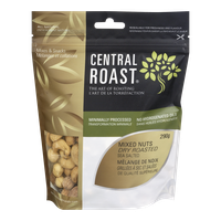 Central Roast Roasted Mixed Nuts, Sea Salted (270g)  - Urbery