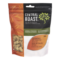 Central Roast Dry Roasted Cashews, Salted (300g)  - Urbery