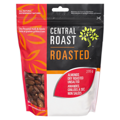 Central Roast Dry Roasted Almonds, Unsalted (310g)  - Urbery